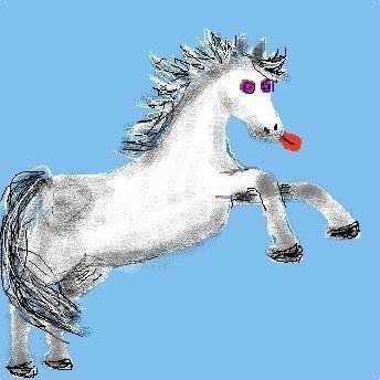 Paardengek